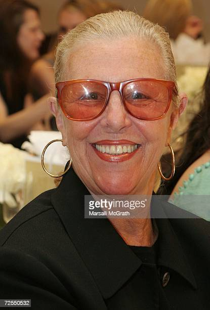 Michael Kors' mother Joan Kors attends the Michael Kors instore appearance and fashion show at Nieman Marcus on November 14 2006 in Beverly Hills...