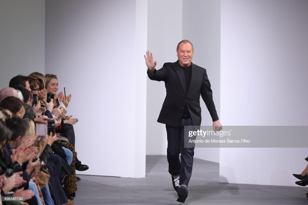 Michael Kors walks the runway at Michael Kors show during New York Fashion Week at Spring Studios on February 15, 2017 in New York City.