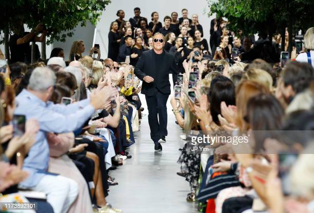 Michael Kors walks the runway during the Michael Kors Collection Spring 2020 Runway Show on September 11, 2019 in Brooklyn City.