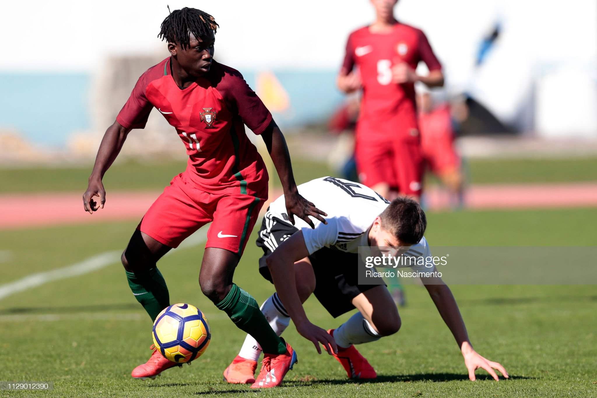 U16 Germany v U16 Portugal - UEFA Development Tournament : News Photo