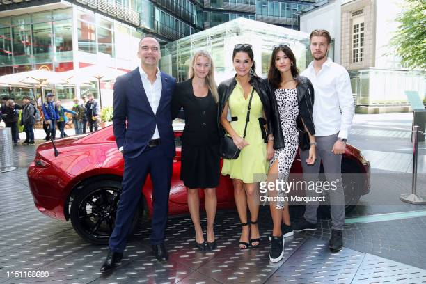 Michael Kraus Manager Brand Engagement Mazda Motor Europe Yvonne Engelen Manager National Communication Mazda Motor Germany Mariella Ahrens Isabella...