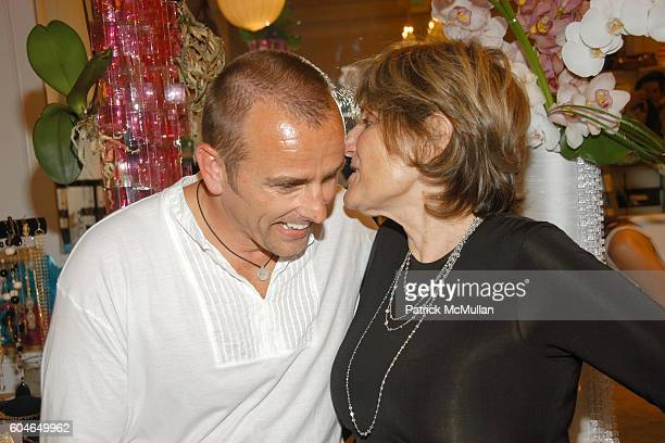 Michael Kucharski and Diane Merrick attend CHERYL HINES JENNIE GARTH AND NANCI RYDER CELEBRATE STYLE ICON DIANE MERRICK AND HER BEVERLY BOULEVARD...