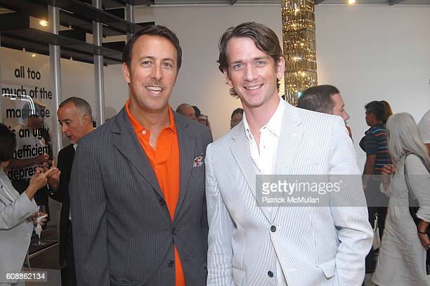 Michael Kucmeroski and Nathan Cooper attend Moss Store Opening on Melrose at Moss Store on August 2 2007 in Beverly Hills CA