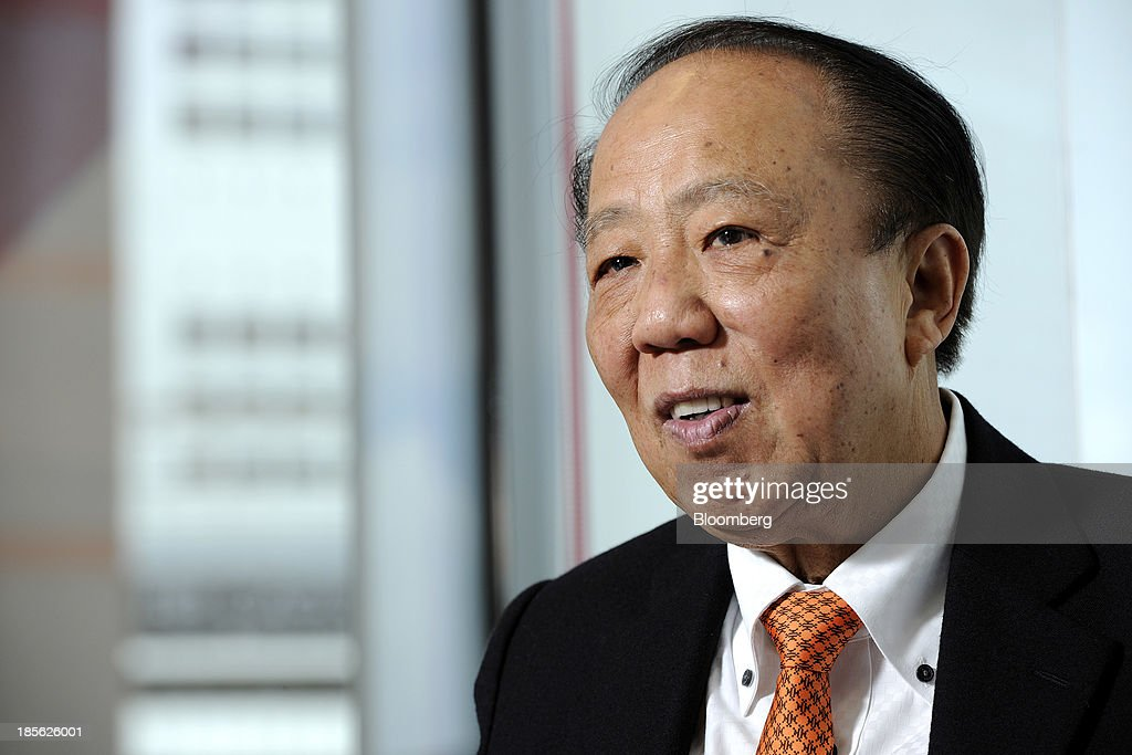 Michael Kum, chairman of M&L Hospitality Trust, speaks during an interview in Singapore, on Tuesday, Oct. 22, 2013. M&L, the owner of Australia's biggest hotel, may seek a listing in the country after abandoning its initial stock sale in Singapore last year. Photographer: Munshi Ahmed/Bloomberg via Getty Images