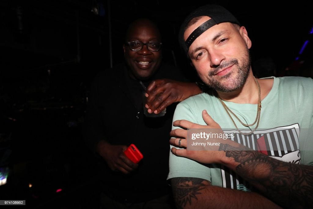 Michael Kyser (L) and DJ Prostyle attend the Atlantic Records Access Granted Showcase on June 13, 2018 in New York City.