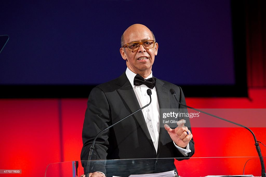 Michael L. Lomax, CEO of UNCF, speaks at the 'UNCF Lighting The Way To Better Futures' Dinner at New York Hilton on March 7, 2014 in New York City.
