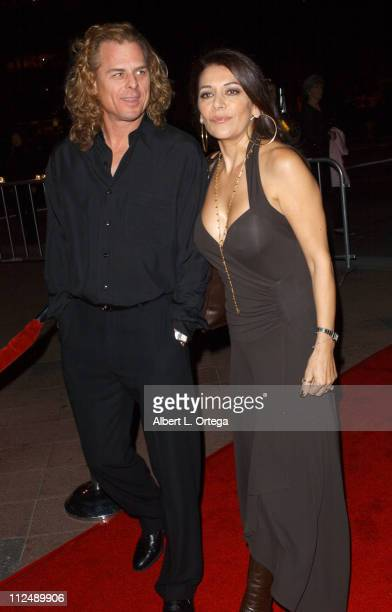 Michael Lamper and Marina Sirtis during The Jules Verne Adventure Film Festival and Expositions - Arrivals at The Shrine Auditorium in Los Angeles,...