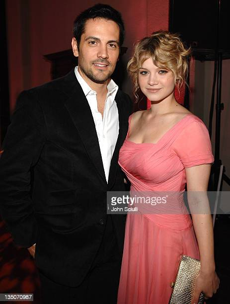 Michael Landes and Sarah Jones during GMC the Official Sponsor of FOX's The Wedding Bells Premiere Party at Wilshire Ebel Theatre in Los Angeles...