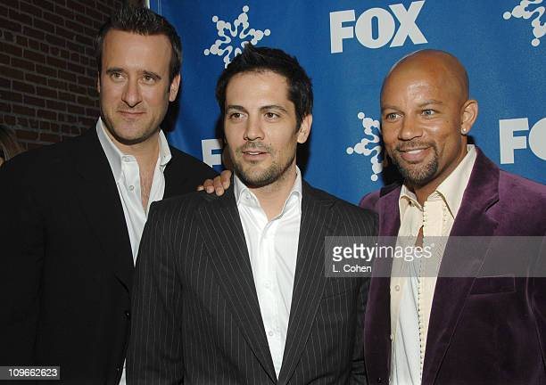 Michael Landes Benjamin King and Chris Williams during The Fox AllStar Winter 2007 TCA Press Tour Party Red Carpet and Inside at Villa Sorriso in...