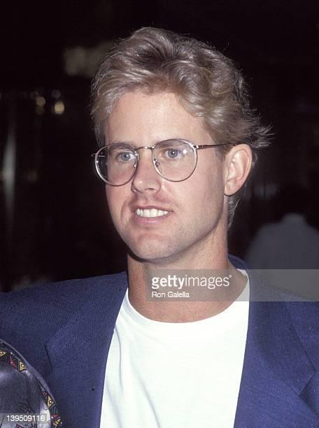 Michael Landon, Jr. Attends the NBC Summer TCA Press Tour on July 20, 1993 at Universal Hilton Hotel in Universal City, California.
