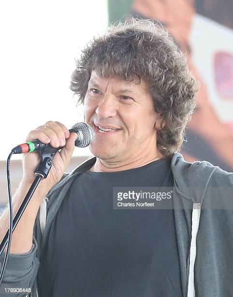 Michael Lang cocreator of the Woodstock Music Art Festival in 1969 attends the Richie Havens Memorial Celebration and Aerial Scattering of Ashes at...