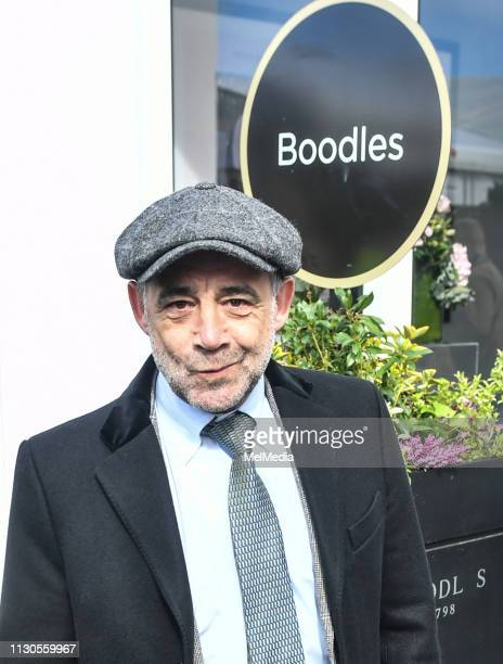 Michael Le Vell at ST Patrick's Thursday at Cheltenham Racecourse for The Festival 2019 on March 14 2019 in Cheltenham Gloucestershire England