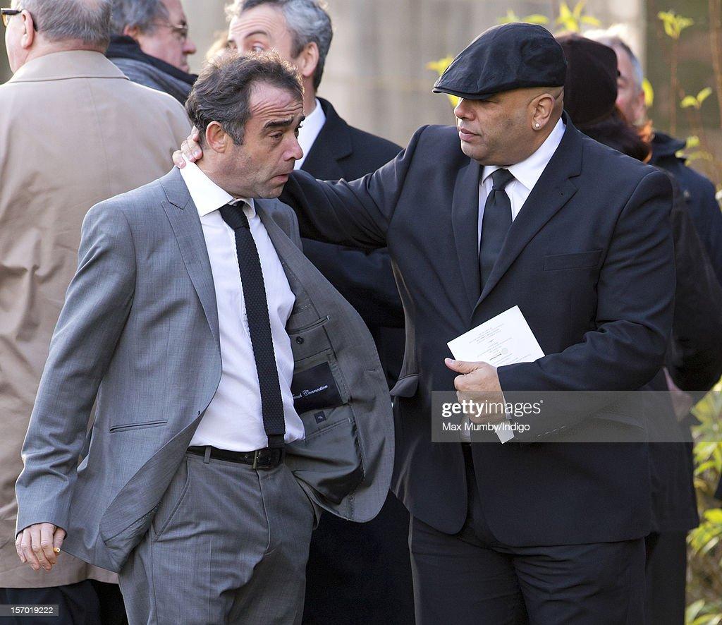 Funeral Of Actor Bill Tarmey
