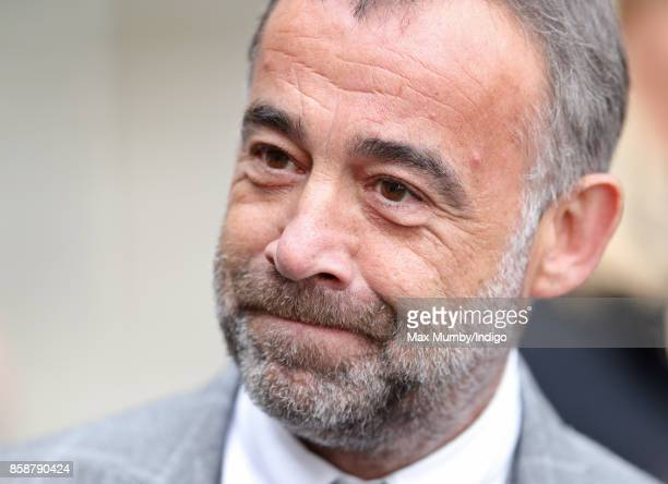 Michael Le Vell attends the funeral of Liz Dawn at Salford Cathedral on October 6 2017 in Salford England Actress Liz Dawn played Vera Duckworth in...