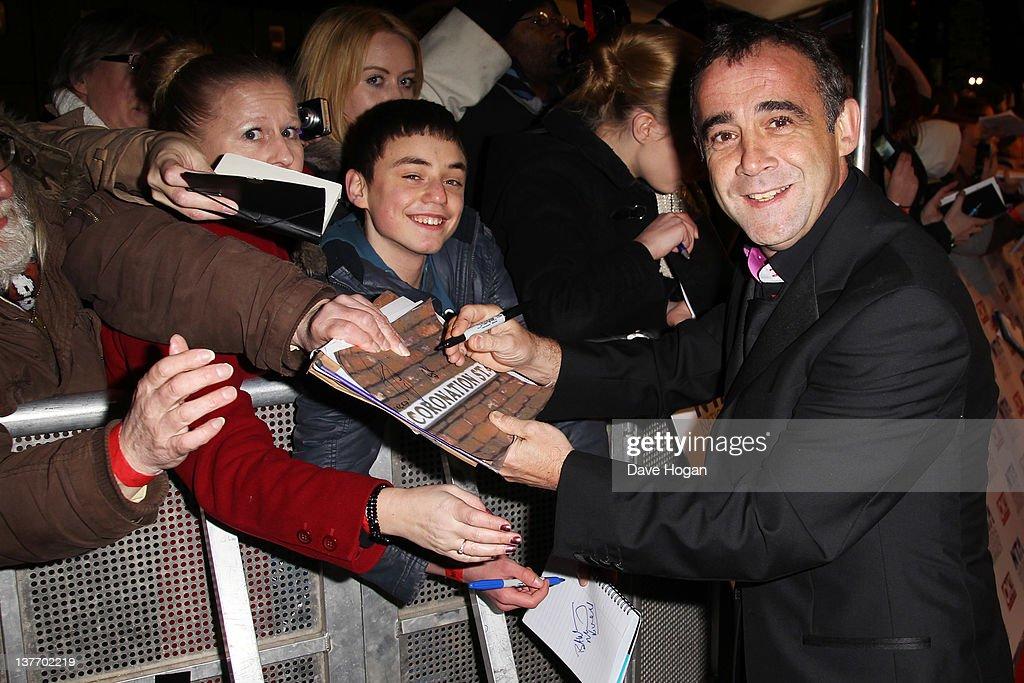 National Television Awards 2012 - Inside Arrivals