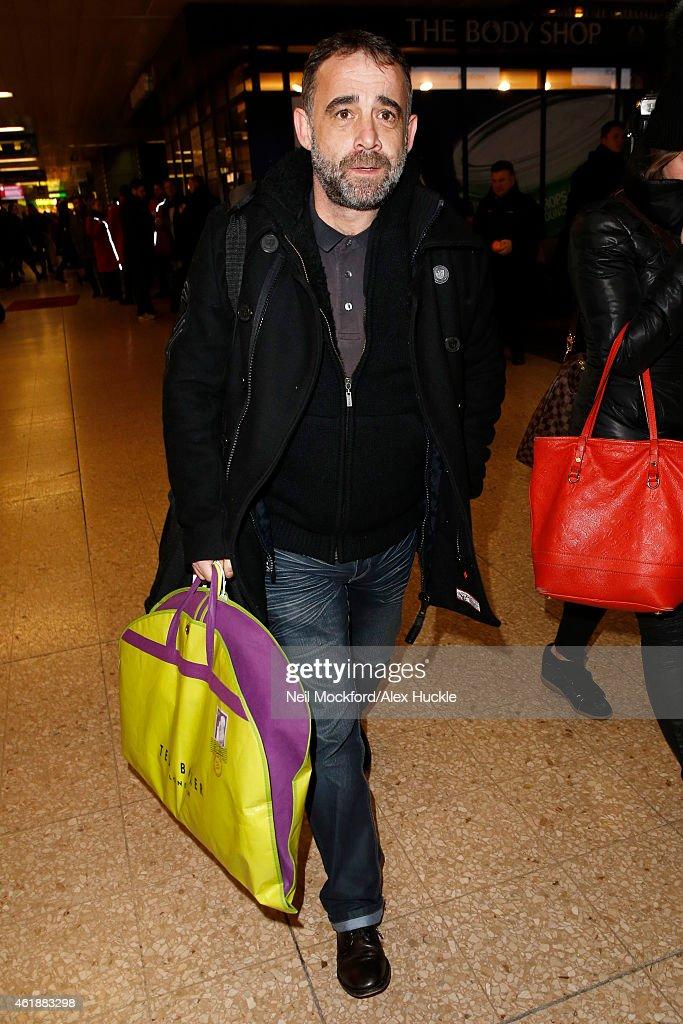 London Celebrity Sightings -  January 21, 2015
