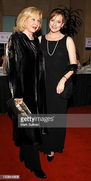 Michael Learned and Mary Beth McDonough during PanCAN's An Evening With the Stars at Beverly Hilton Hotel in Beverly Hills California United States