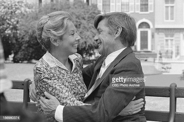 Michael Learned as Olivia walton and Ralph Waite as John Walton on The Empty Nest Image dated June 16 1978