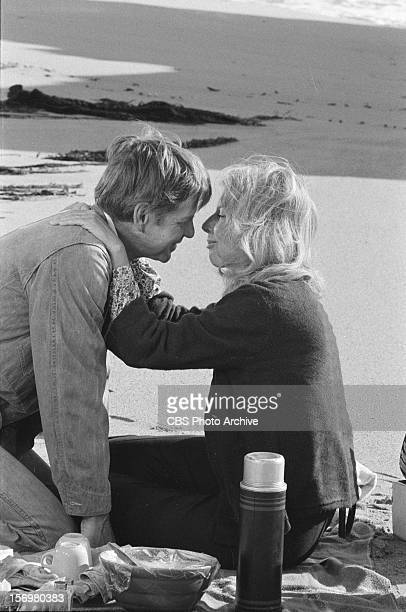 Michael Learned as Olivia Walton and Ralph Waite as John Walton on The Parting Image dated November 16 1978