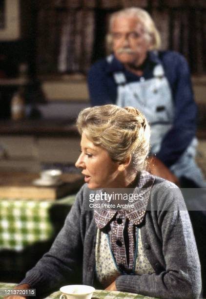 Michael Learned as Olivia Walton in the CBS television series The Waltons circa 1977