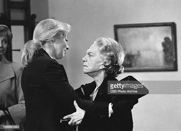 Michael Learned as Olivia Walton left and Ellen Corby as Esther Walton on The Parting Image dated November 16 1978