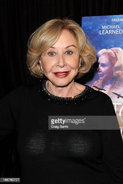 Michael Learned attends The Outgoing Tide Off Broadway Opening Night After Party at Lavo on November 20 2012 in New York City