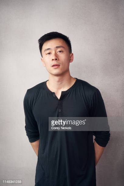 Michael Lei of the film 'A Taste of Sky' poses for a portrait during the 2019 Tribeca Film Festival at Spring Studio on April 26 2019 in New York City