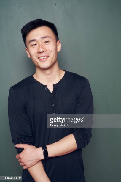 Michael Lei of the film 'A Taste of Sky' poses for a portrait during the 2019 Tribeca Film Festival at Spring Studio on April 27 2019 in New York City