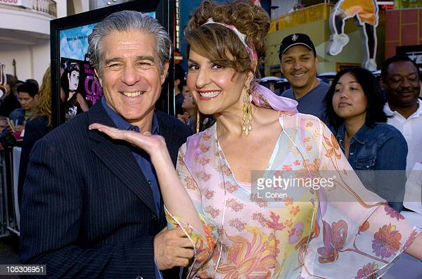 "Michael Lembeck, director and Nia Vardalos during ""Connie and Carla"" World Premiere - Red Carpet at Universal Studios Cinema in Universal City,..."