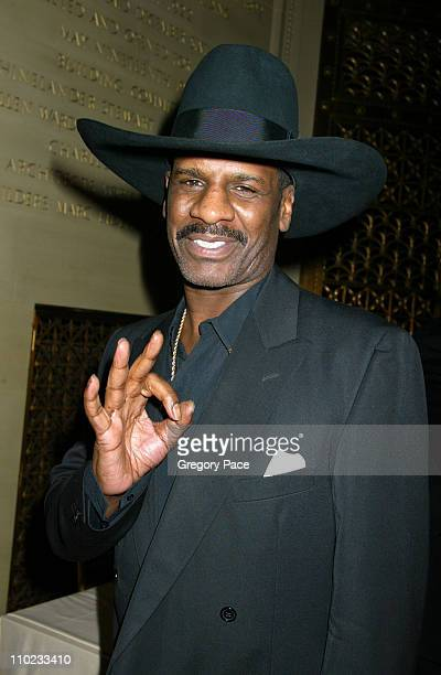 Michael Leon Spinks during Julius Caesar Broadway Opening Night After Party at Gotham Hall in New York City New York United States