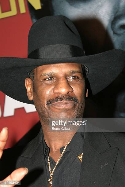 Michael Leon Spinks during Julius Caesar on Broadway Arrivals April 3 2005 at The Belasco Theater in New York City New York United States