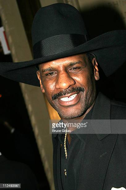 Michael Leon Spinks during Opening Night Party for Julius Caesar on Broadway at Gotham Hall in New York City New York United States