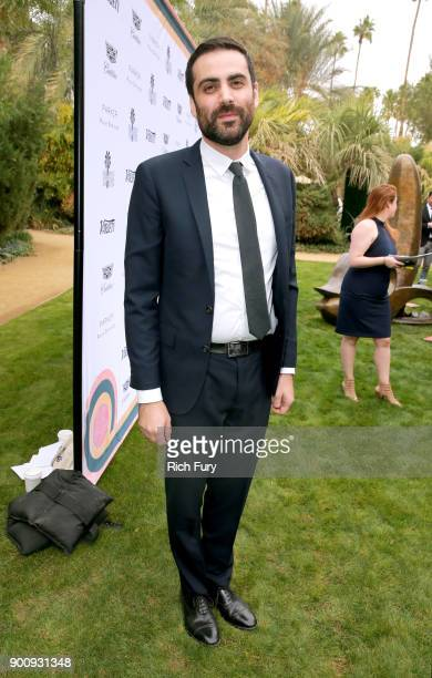 Michael Lerman attends Variety's Creative Impact Awards and 10 Directors to Watch Brunch Red Carpet at the 29th Annual Palm Springs International...