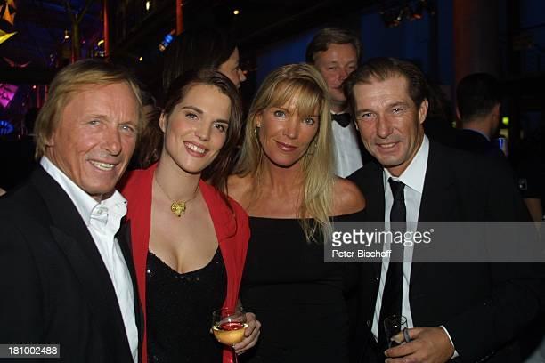 Michael Lesch Ehefrau Christina Claus Theo Gärtner Freundin Sarah Wuergler AftershowParty Verleihung Deutscher Fernsehpreis 2003 Köln Coloneum...
