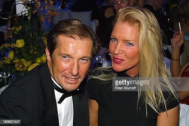 Michael Lesch Ehefrau Christina Keiler Deutscher Sportpresseball 2001 Frankfurt Alte Oper Frau Abendgarderobe