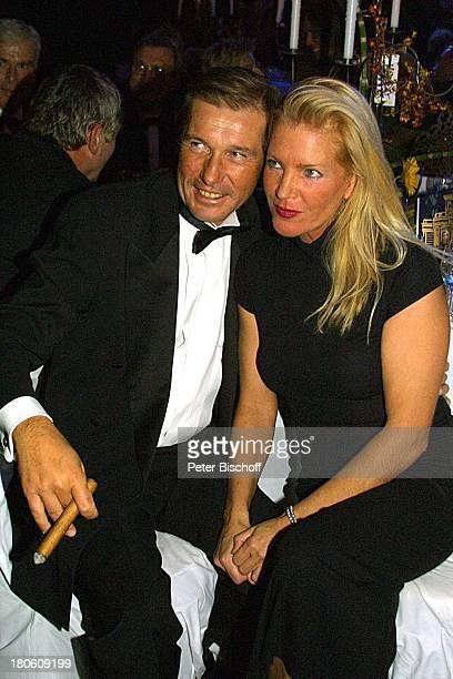 Michael Lesch Ehefrau Christina Keiler Deutscher Sportpresseball 2001 Frankfurt Alte Oper Ballsaal