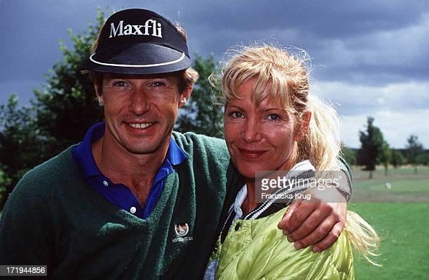 Michael Lesch Freundin Christina Keiler Bei Ottifanten Cup 1994 Porträt