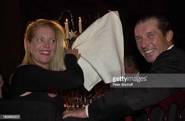 Michael Lesch mit Frau Christina Deutscher Videopreis 2001München GalaVeranstaltung