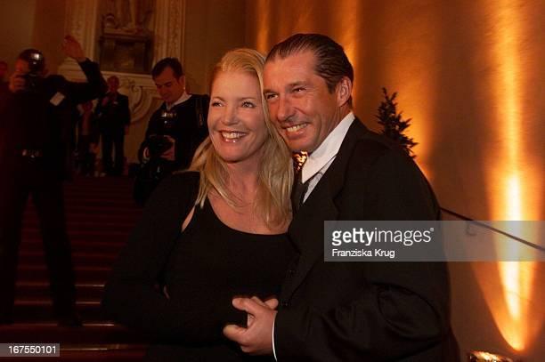 Michael Lesch Und Seine Ehefrau Christina Bei Der Verleihung Deutscher Videopreis