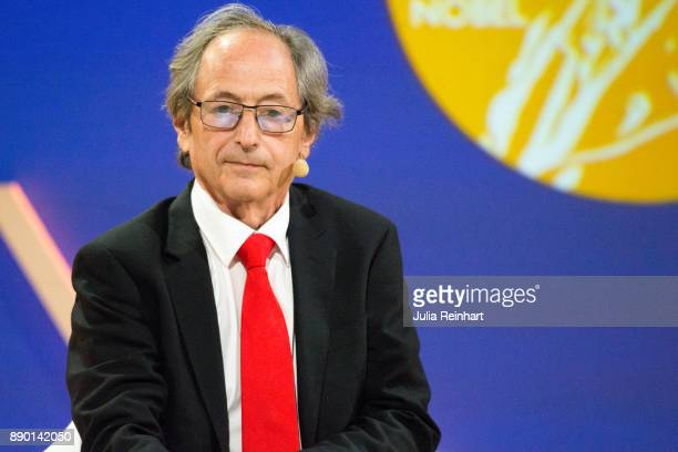 Michael Levitt 2013 Laureate of the Nobel Prize in Chemistry speaks at 'Nobel Week Dialogue the Future of Truth' conference at at Svenska Massan on...