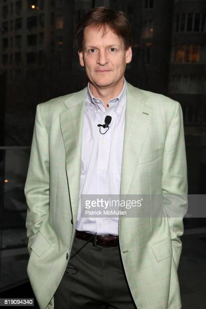 Michael Lewis attends Graydon Carter Interviews Author MICHAEL LEWIS To Celebrate 'The Big Short Inside The Doomsday Machine' at The Museum of Modern...