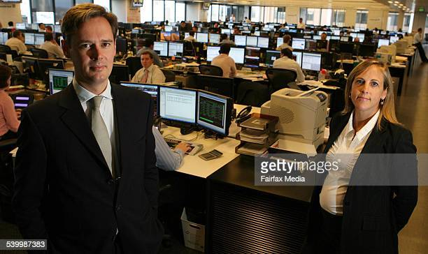 Michael Lewis Global Head of Commodities Research at Deutsche Bank and Melissa Babbage MD Global Currencies at Deutsche Bank 20 July 2006 AFR Picture...