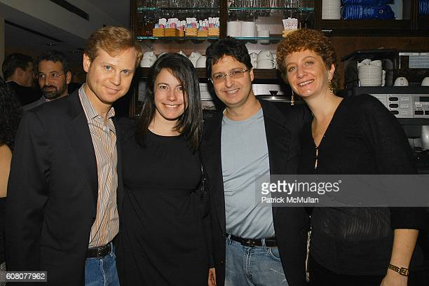 Michael Lewittes Dahlia Loeb Cohen and Dana Cohen attend Birthday Celebration for JULIE MACKLOWE at Geisha 33rd on December 16 2006 in New York City