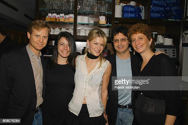 Michael Lewittes Dahlia Loeb Julie Macklowe Cohen and Dana Cohen attend Birthday Celebration for JULIE MACKLOWE at Geisha 33rd on December 16 2006 in...