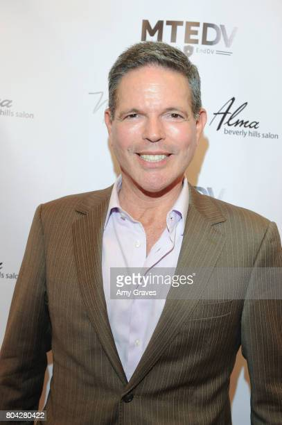 Michael Libow attends A Night Out a fundraising event benefiting #MoveToEndDV hosted by Beverly Hills plastic surgeon Dr Marc Mani at Alex Casalino's...