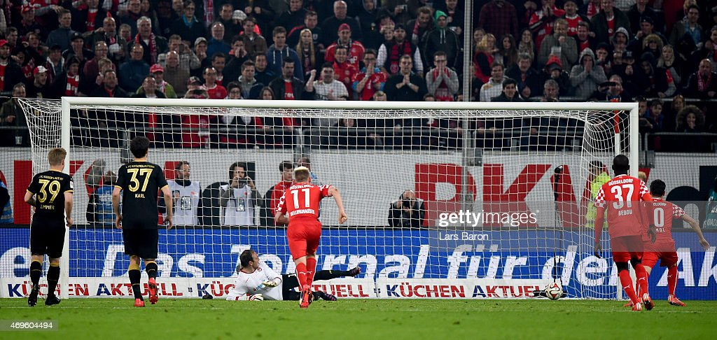 Michael Liendl Of Fortuna Duesseldorf Scores His Teams First Goal