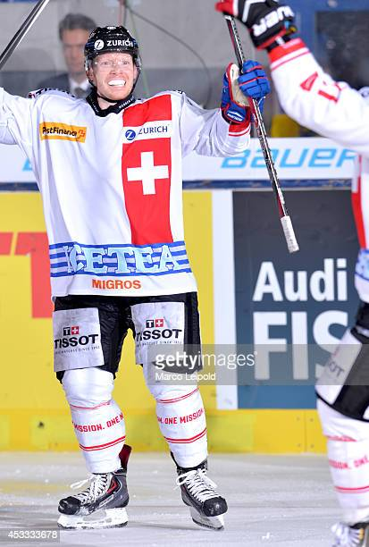 Michael Liniger during the germany Cup game Germany vs Switzerland on november 08 2013 in Munich Germany