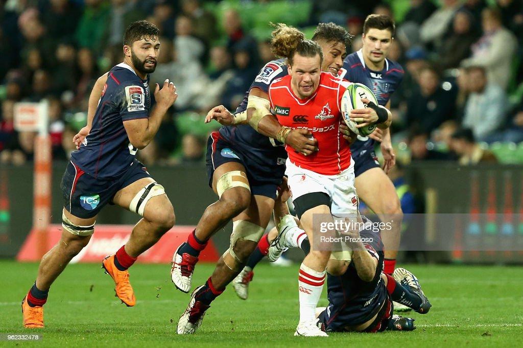 Super Rugby Rd 15 - Rebels v Sunwolves : ニュース写真