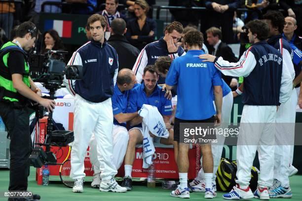 Michael LLODRA - - 3e simple - France / Serbie - Finale Coupe Davis 2010 - Belgrade - Serbie,