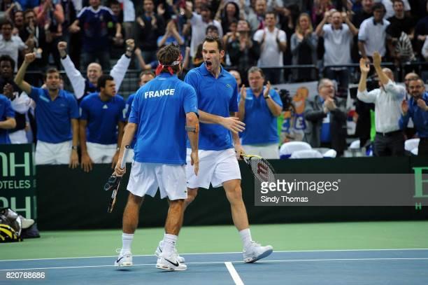 Michael LLODRA / Arnaud CLEMENT - - Double - France / Serbie - Finale Coupe Davis 2010 - Belgrade - Serbie,
